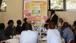 Meeting in Kampala for limate Change Action Strategy.
