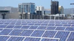 Solar panels installed in Adelaide.