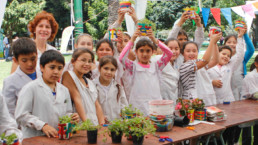 Children in Buenos Aires are learning all about sustainability in school.