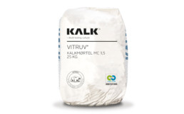 Kalk cement free mortar.