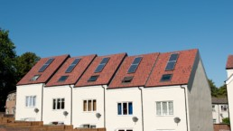 Homes with new solar panels installed. Energy. Energy.
