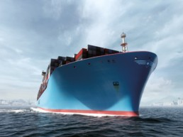 The Maersk Triple-E class of ultra-large container ships are all about energy efficiency, economies of scale and environmental improvements.