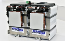 Product shot of a Faradion low cost batteries.