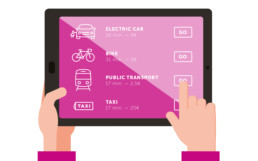 The Mobility Shop public transportation mobile app