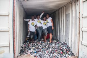 Closing the Loop's 'One For One' scheme aims to safely recycle one scrap phone in emerging markets for every new phone purchased by their partners.