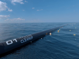 Autonomous Floating Systems Collect Ocean Waste. The Ocean Clean Up.