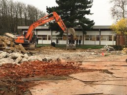 Construction work in Faxe Municipality