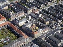 Areal view of Copenhagen
