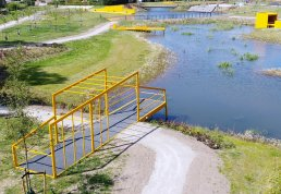 Rainwater Basins Become Recreational Spaces in Skanderborg Municipality.