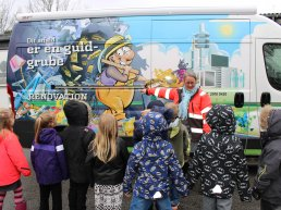 School Bus Makes Children Experts In Waste in Aalborg Municipality.