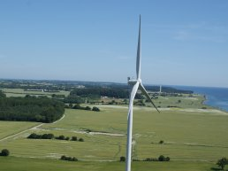 Wind turnbines in Langeland Municipality makes more than self-sufficient, allowing renewable electricity exports.