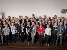 Staff from Energy Across (Energi på Tværs). 33 municipalities, the Capital Region of Denmark, and nine utility companies have entered into a partnership.
