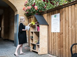 Frederiksberg Municipality is implementing a new community sharing program in partnership with Naboskab.