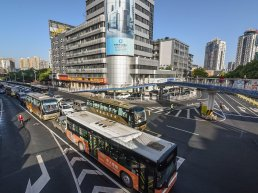 Foshan's new hydrogen-powered buses are cleaning up the air for the city's 7.5 million citizens.